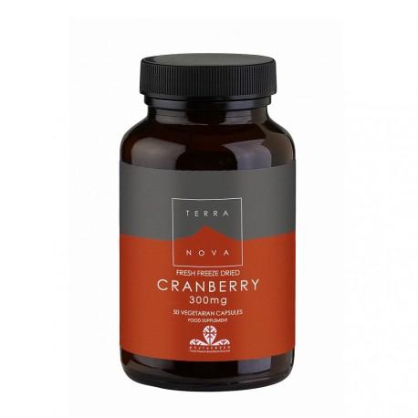 Terranova Cranberry 300mg 50veg.caps