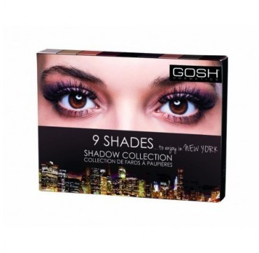 GOSH 9 SHADES EYESHADOW 001 TO ENJOY IN NEW YORK