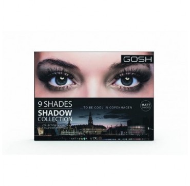 Gosh 9 Shades Eyeshadow 004 To Be Cool In Copenhagen
