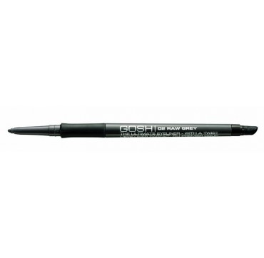 GOSH THE ULTIMATE EYELINER WITH A TWIST 02 RAW GREY
