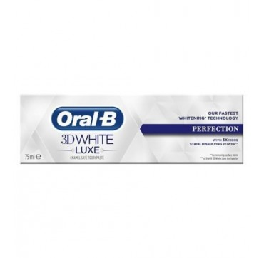 ORAL-B 3D WHITE LUX PERFECTION 75ml