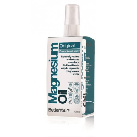 BetterYou MAGNESIUM OIL ORIGINAL PURE MINERAL SPRAY 100ML