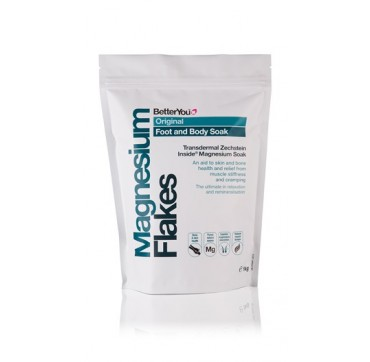 BetterYou MAGNESIUM FLAKES ORIGINAL FOOT AND BODY SOAK 1KG