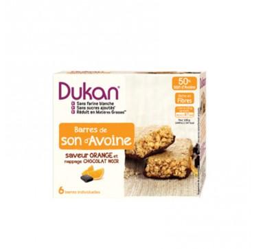 Dukan Μπάρες βρώμης με σοκολάτα και πορτοκάλι 150gr