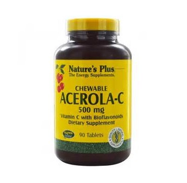 NATURE'S PLUS ACEROLA-C 500 MG