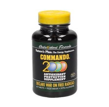 NATURE'S PLUS COMMANDO 2000 60S