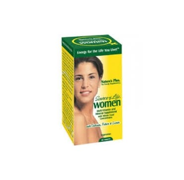 Nature's Plus Source Of Life Women Πολυβιταμίνη 60 Tabs