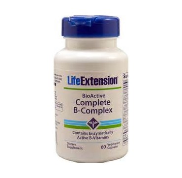 LIFE EXTENSION COMPLETE B-COMPLEX 60 VCAPS