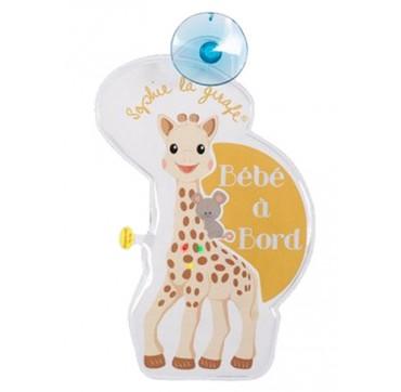 SOPHIE LA GIRAFE Baby on Board σήμα με φωτάκια