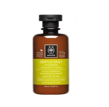 APIVITA Gentle Daily Shampoo Απαλό Σαμπουάν για Καθημερινή Χρήση με Χαμομήλι & Μέλι, 250ml