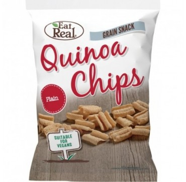 Eat Real Quinoa Chips Plain (gluten Free & Vegan) 80g