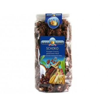 Bioking Τραγανό Μούσλι Με Σοκολάτα 375 G