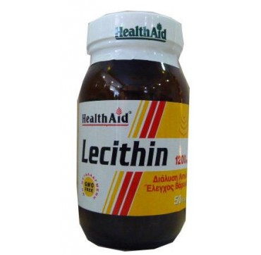 HEALTHAID LECITHIN 1200mg 50caps