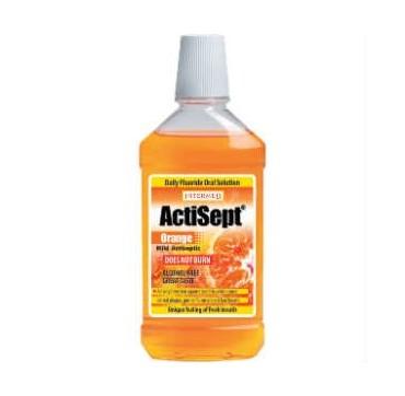 Actisept Mouthwash 500ml Πορτοκάλι