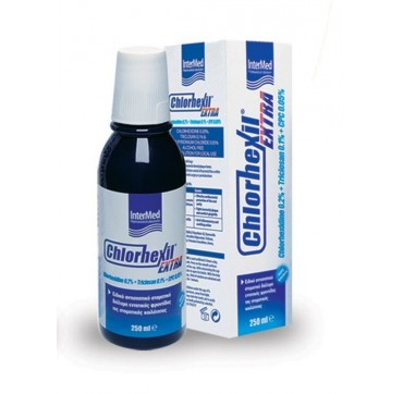 Intermed Chlorhexil Extra Mouthwash 250ml