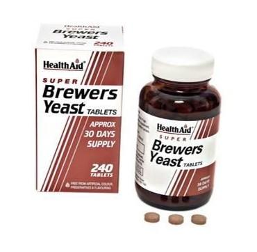 HEALTHAID BREWERS YEAST 240TABS
