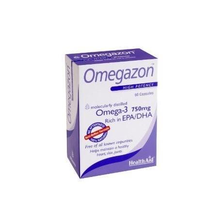 HEALTHAID OMEGAZON OMEGA-3 750MG EPA/DHA 60CAPS