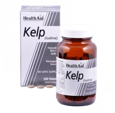 HEALTH AID Super Kelp Tablets 240's
