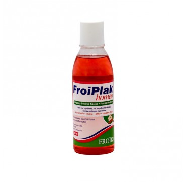 Froiplak Homeo Mouthwash (apple Cinnamon) 250ml