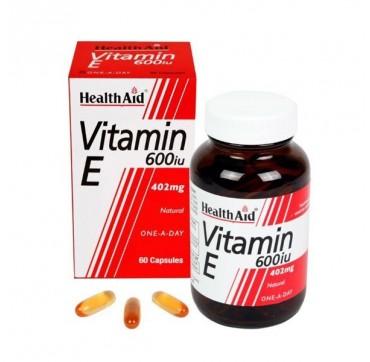 HEALTHAID VIT E 600iu 60CAPS
