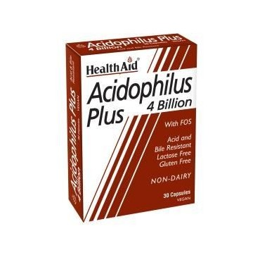 HEALTHAID ACIDOPHILUS PLUS 4 BILLION 30CAPS