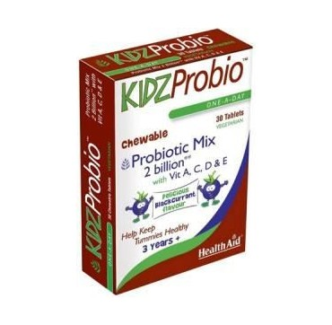 HEALTHAID KIDZPROBIO ONE-A-DAY CHEWABLE 30TABS