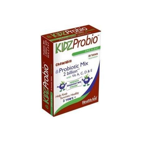 HEALTHAID KIDZPROBIO ONE-A-DAY CHEWABLE 30TABS