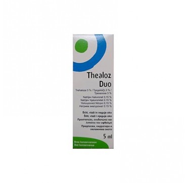 Thealoz Duo Eye Drops, 5ml