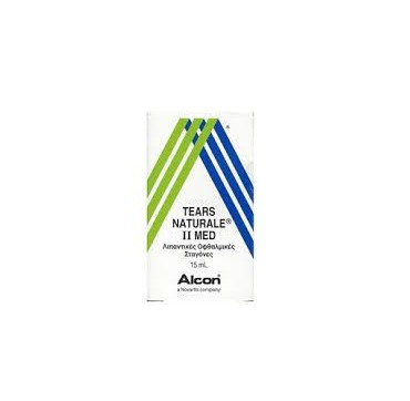 Alcon Tears Naturale II Med Λιπαντικές Οφθαλμικές Σταγόνες 15ml