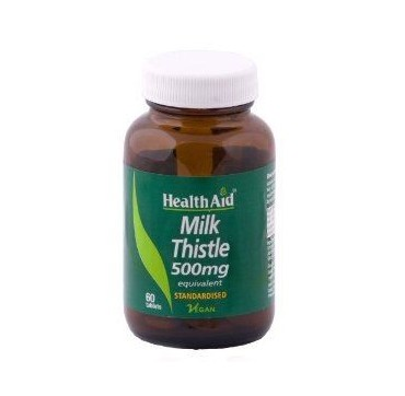 HEALTHAID MILK THISTLE 500MG 30TABS
