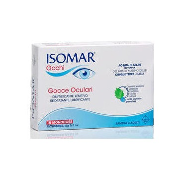 Isomar Eyes- Οφθαλμικές Σταγόνες-15 Μονοδόσεις