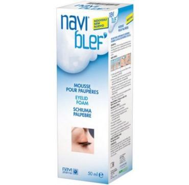 Novax Pharma Navi Blef Eyelid Foam 50ml - Αφρός Καθαρισμού Βλεφάρων