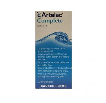 Artelac Complete Λιπαντικό Οφθαλμικό Διάλυμα 10ml