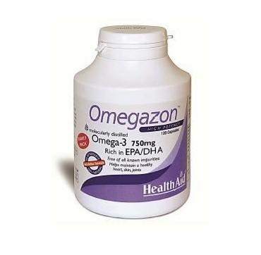 HEALTHAID OMEGAZON HIGH POTENCY OMEGA-3 750MG EPA/DHA 120CAPS