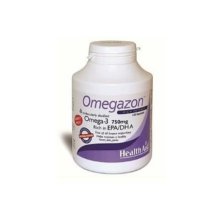 Healthaid Omegazon High Potency Omega-3 750mg Epa/dha 120caps