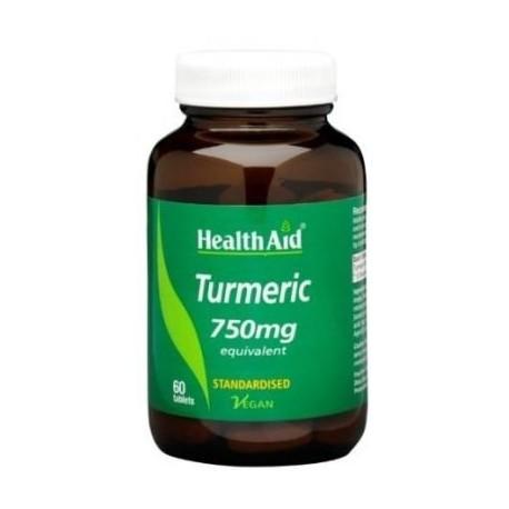 HEALTHAID TURMERIC 750MG 60TABS
