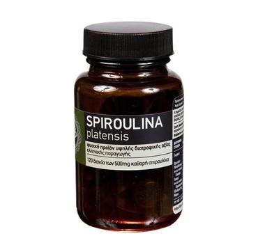 Spiroulina Platensis Mε Ιώδιο 500mg 120tabs