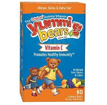 Yummi Bears Vitamin C 60 gummies