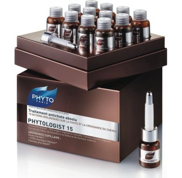 Phytologist 15 Anti-Hairloss Treatment 12 X 3,5ml