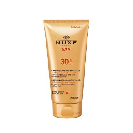 Nuxe SUN milky lotion for face & body -Αντηλιακο γαλάκτωμα για πρόσωπο και σώμα SPF 30