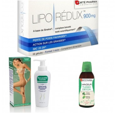 TURBO DETOX 500 ML + LIPO REDUX 900 MG + SOMATOLINE COSMETIC TOTAL ΑΔΥΝΑΤΙΣΤΙΚΟ - ΤΟΝΩΤΙΚΟ GEL 200ml