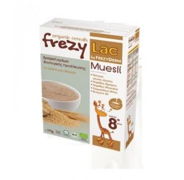Frezyderm Frezylac Cereal Βρεφική Βιολογική Κρέμα Το Πρώτο Μου Μούσλι 175g