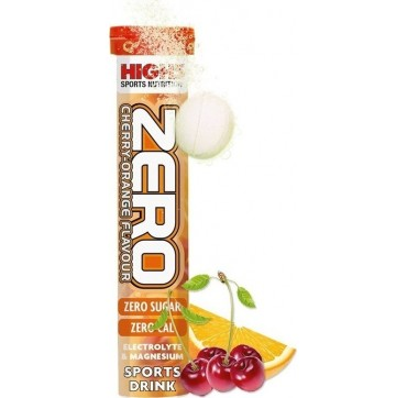 HIGH5 ENERGY ZERO CHERRY-ORANGE FLAVOUR 20 EFF. TABS