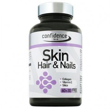 Confidence Skin, Hair & Nails 60+30 tabs