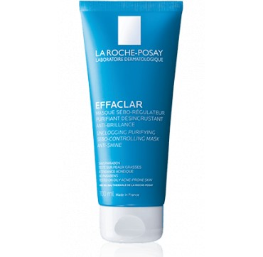 LA ROCHE-POSAY EFFACLAR UNCLOGGING PURIFYING SEBO-CONTROLLING MASK ANTI-SHINE 100ML