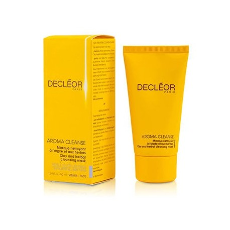 DECLEOR AROMA CLEANSE CLAY + HERBAL CLEANSING MASK 50ml