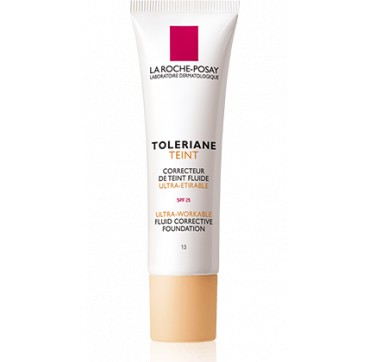 LA ROCHE-POSAY TOLERIANE TEINT ULTRA-WORKABLE FLUID CORRECTIVE FOUNDATION SPF25 No10 (IVORY) 30ML