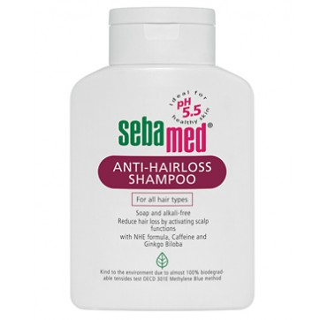 SEBAMED ANTI-HAIRLOSS SHAMPOO FOR ALL HAIR TYPES 200ML