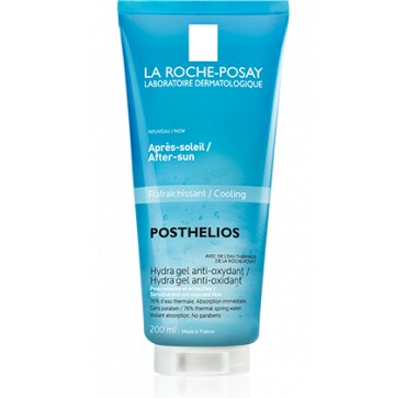 La Roche-posay Posthelios After-sun Cooling Hydra Gel Anti-oxidant Sensitive And Sun Exposed Skin 200ml