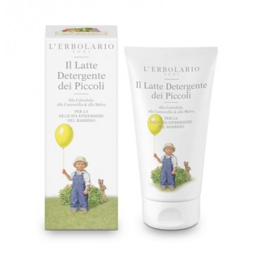 L'ERBOLARIO CLEANSING MILK FOR BABIES-ΓΑΛΑΚΤΩΜΑ ΚΑΘΑΡΙΣΜΟΥ 150ML